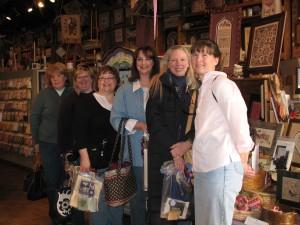 Cheryl, Laura (me), Cathy B, Lynn, Alice, Brenda