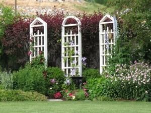 Nixon garden architecture close up